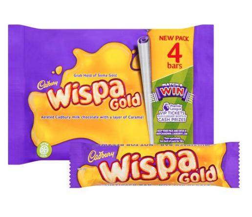 Wispa Gold 4 pack £1 @ Tesco discount offer