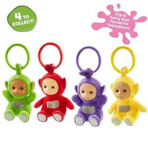 Clip on Teletubbies 99p instore @ Home Bargains St Johns Liverpool discount offer
