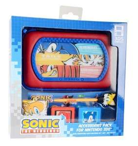 Sonic The Hedgehog 6-in-1 Accessory Kit (Nintendo 3DS/DS) £2.79 at Clearanceshed