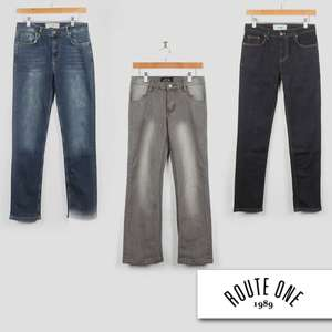 Various Boys Route One Jeans £8.98 Delivered - £4.99 Per Pair + £3.99 Delivery @ Route One