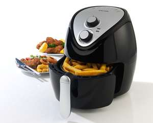 Salter 3.2L 1300w Hot Air Fryer - Black/Silver for £29.99 @ Robert Dyas (Free Click+Collect)