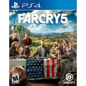 Far Cry 5 prewoned (PS4) Click and Collect £9.99 or +£1.95 delivered @ GAME