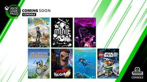 Lonely Mountains: Downhill /Subnautica/ Secret Neighbor/LEGO Star Wars III + more games coming to Xbox Game Pass @ Xbox