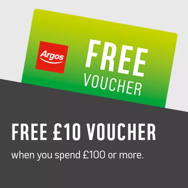 £5 Argos Voucher With £50 Spend / £10 Voucher With £100 Spend @ Argos