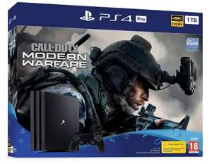 PlayStation 4 Pro console with Call of Duty: Modern Warfare for £139.99 (In-store at  GAME when you trade in ANY PS4 console)
