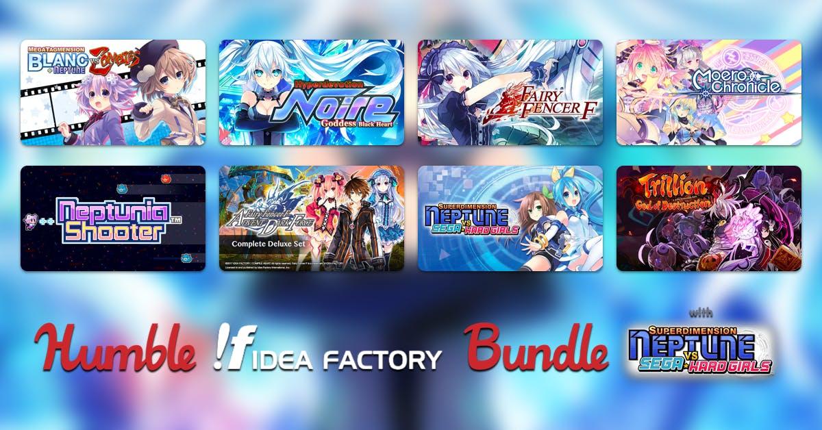 Humble Idea Factory Bundle from 77p @ Humble Bundle discount offer
