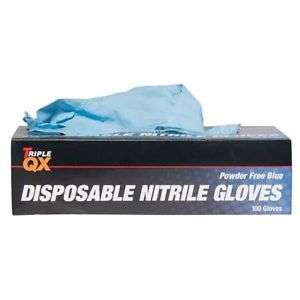 Triple QX 543772110 Nitrile Work Gloves 100 Pieces XL Powder Free Non Handed £1.19 delivered @ Euro Car Parts Ebay discount deal