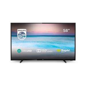 58 inch Philips 58PUS6504/12 TV LED Smart TV (2019 model) (4K UHD, HDR 10+, Dolby Vision, Dolby Atmos, Smart TV) - £449 @ Amazon