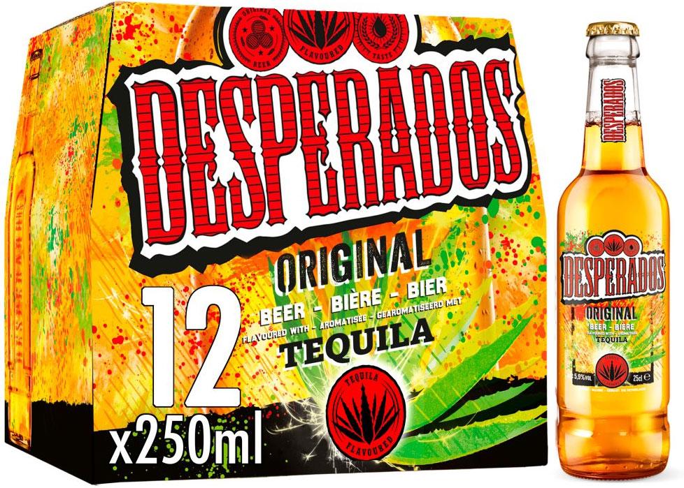 Desperados Tequila Original Beer 12x250ml £10 Asda