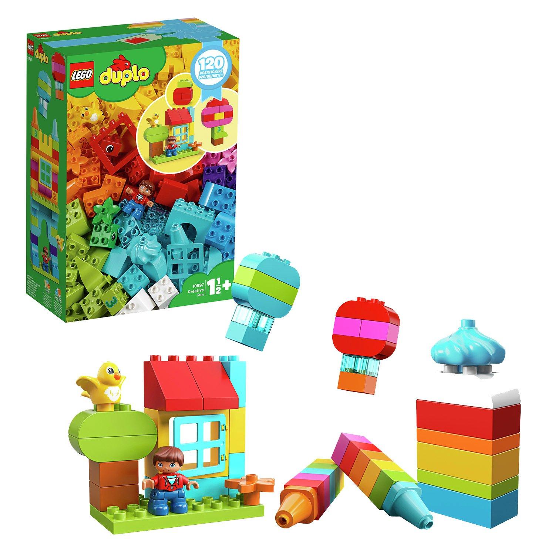 LEGO DUPLO 10887  Creative Fun Large Bricks Building Set 120 pieces - £17.55 using code @ Argos