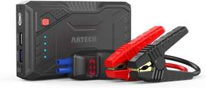 Portable Car Jump Starter / power bank - £39.99 using code - Sold by ARTECK and Fulfilled by Amazon
