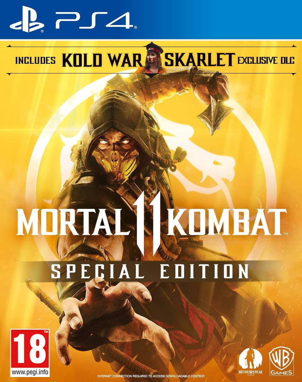 Mortal Kombat 11 Special Edition PS4 / Xbox One £29.99 - Amazon Exclusive