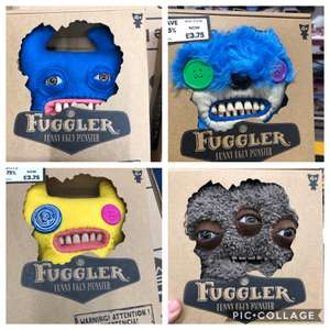 Fuggler ugly monster soft toys £3.75 (Small) / £6.25 (Large) @ The Entertainer (Hanley)