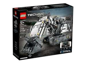 LEGO Technic Control + Liebherr R 9800 Excavator - Model 42100 (12+ Years) £319.99  @ Costco