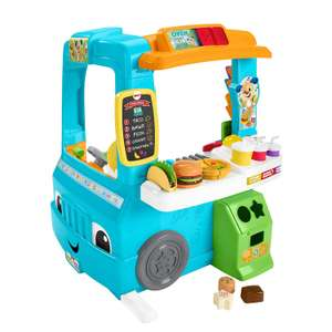Fisher-Price Laugh and Learn Servin Up Fun Food Truck £45 @ Amazon