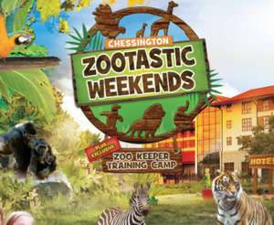 Zootastic Sleepover with Overnight Stay, Entry to Zoo and Sea Life Centre + more from £99 for family of four (weekend stays) @ Chessington