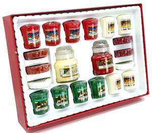 Official Yankee Candle Merry Christmas 20 Piece Selection Box Gift Set £20 (£19 for new subscribers) + Free delivery @ Yankee Bundles