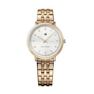Tommy Hilfiger Sloane Silver Dial Rose Gold Plated Watch - £78 Delivered @ Browns Family Jewelers