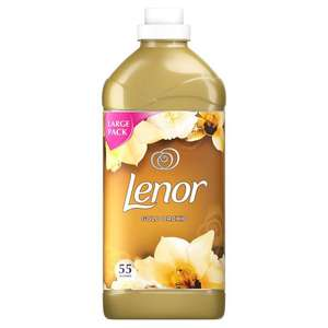 Lenor xl fabric conditioner 55 washes 1.925l - half price from £5 to £2.50 at Tesco