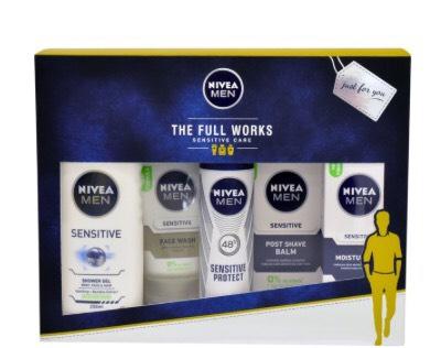 Nivea Men The Full Works Gift Set £10 @ Morrisons