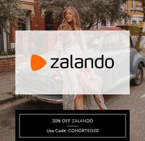 20% off at Zalando -  purchases of £50 and over