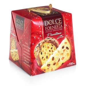 Dolce Forneria Panettone Traditional Italian Christmas Cake 900g - £3 @ Wilko (Instore or +£2 C&C)
