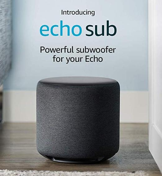 Certified Refurbished Echo Sub £84.99 @ Amazon
