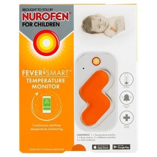 Nurofen Temperature Monitor - £19.99 @ Nurofen Shop (With Newsletter Signup) + £4.99 P&P