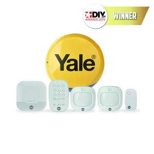 Yale IA-320 Sync Smart Home Alarm - Family Kit, Works with Alexa and Philips Hue £199.99 Delivered @ Amazon