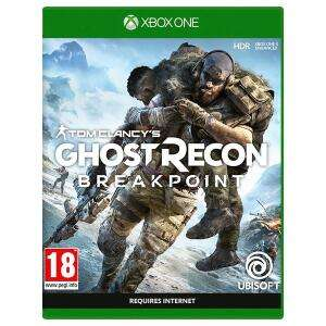 Ghost Recon Breakpoint xbox one £29 Tesco Oxford