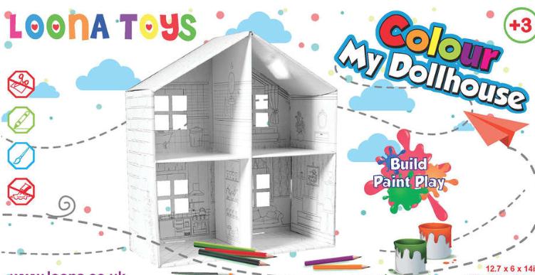 Colour my dollhouse £1.99 @ Home bargains Bridgwater
