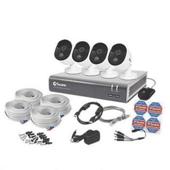 Swann SWDVK-845804V-EU 8-CHANNEL 1080P CCTV DVR KIT & 4 CAMERAS £239.99 @ Screwfix