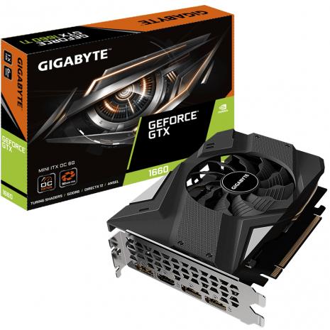 Gigabyte GeForce GTX 1660 Mini ITX OC 6GB GDDR6 VR Ready Graphics Card £190 AWD-IT