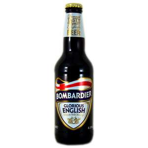 Bombardier glorious English ale 330ml 59p at JTF instore
