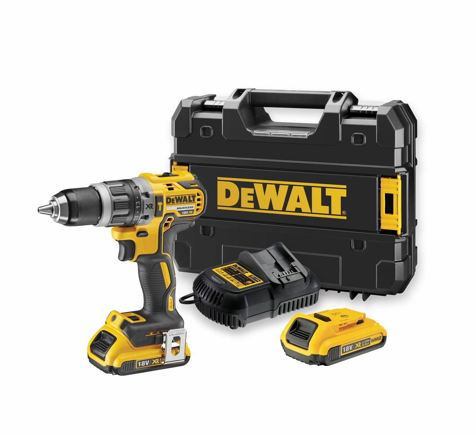 DeWalt DCD796 18V with 2x 2ah batteries and case £116 @ eBay Travis Perkins Store