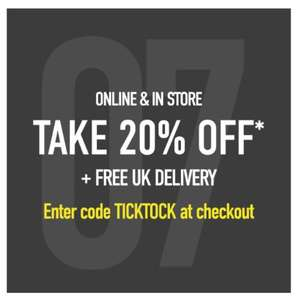 20% off full price items + FREE UK DELIVERY at Office Shoes