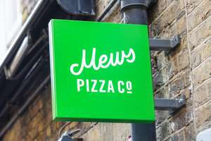 Spend £80 or more and get £40 back @ Mews pizza via American express gold charge card