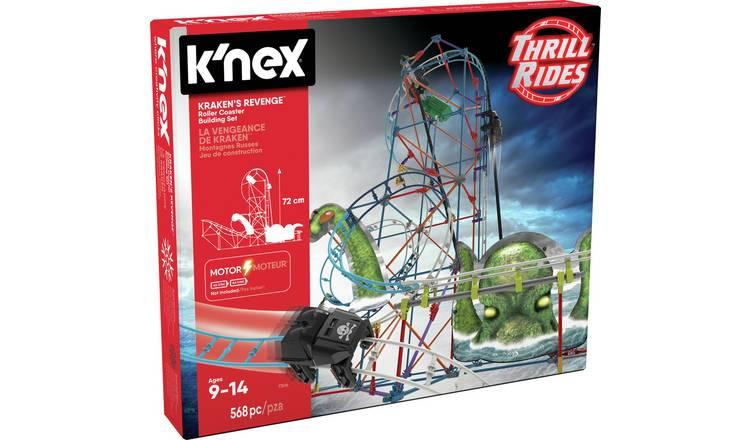 1/2 Price : K'Nex Kraken's Revenge Motorised Rollercoaster Building Set, Now £25 @ Argos ( Free Click & Collect )