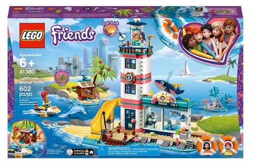 LEGO 41380 Friends Lighthouse Rescue Center Sea Life Vet Set £36.99 at Smyths Toys