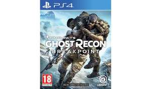 Ghost Recon Breakpoint PS4 - £29 Instore @ Tesco (Sunderland)