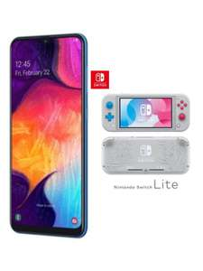 Free Nintendo Switch Lite with Samsung Galaxy A40 + 12GB O2 Data £29pm / £19 Upfront £711 @ Mobiles.co.uk