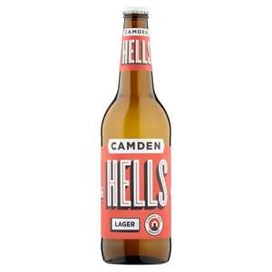 Free Glass With Beer! (Camden Hells Lager 660ml) - £2.75 Instore @ Asda (Stockport)