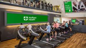 Free seven-day gym pass with Nuffield Health via VeryMe rewards on the vodafone app
