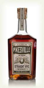 Pikesville 6 Year Old 110 Proof Straight Rye – £59.95 @ Master of Malt discount offer