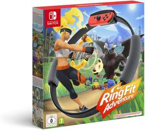 Ring Fit Adventure £54.99 (also £49.99 selected accounts code GIFT05) @ Amazon