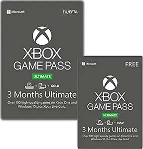 6 months Xbox Game Pass Ultimate - £32.99 - Amazon