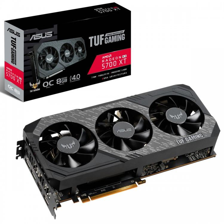 ASUS TUF Gaming X3 Radeon RX 5700 XT OC Edition 8 GB GDDR6 £366.99 @ amazon.co.uk