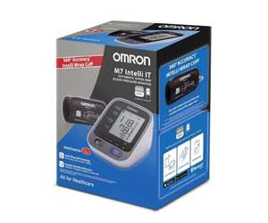 Omron M7 Intelli IT 360 Degree Accuracy Connected Upper Arm Blood Pressure Monitor £49.99 Amazon