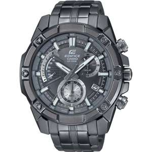 Casio Edifice EFR-559GY-1AV EFR559GY-1AV Chronograph Analog Men's Watch £86 Creation Watches