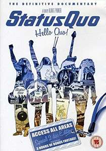 Blu-Ray 2 Disc Version - Status Quo, Hello Quo - £2 instore at Poundland